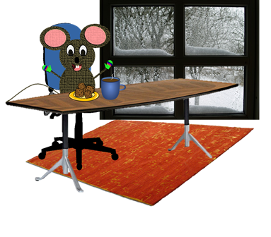 mouse-in-conference-room