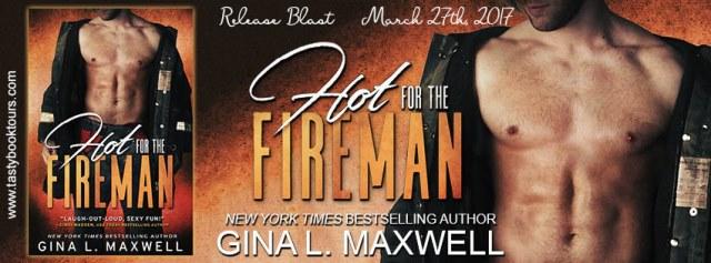 hot for fireman banner