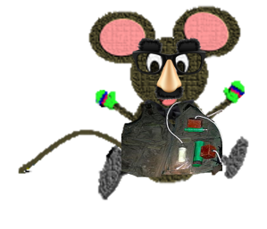 mouse in vest