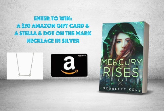 Mercury Rises - Giveaway Graphic