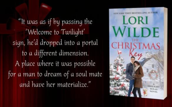 Teaser - The Christmas Key by Lori Wilde - 1