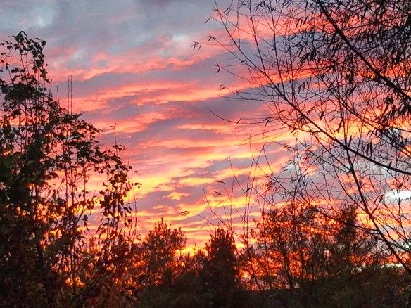sunset november 6