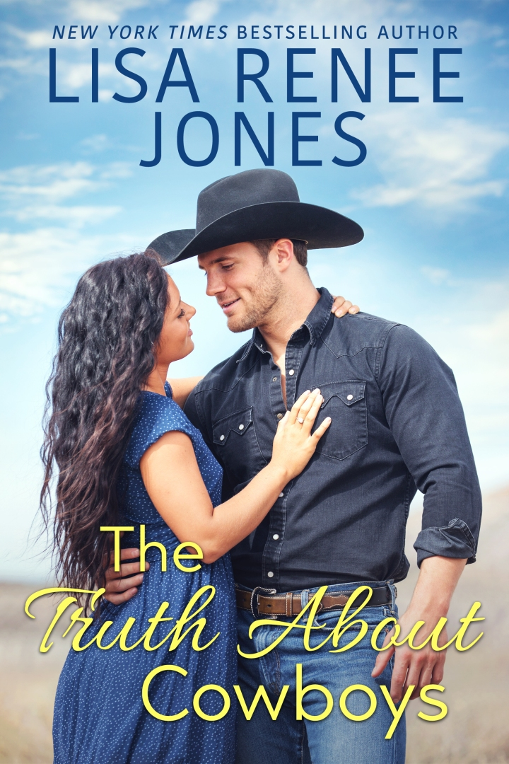 The Truth About Cowboys by Lisa Renee Jones book cover